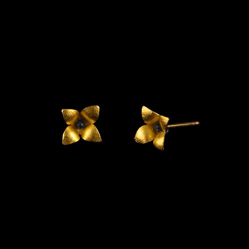Single Wildflower Earrings