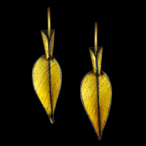 Trailing Leaf Earrings