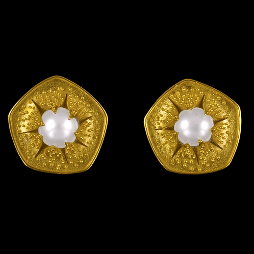 Emerging Pearl Earrings