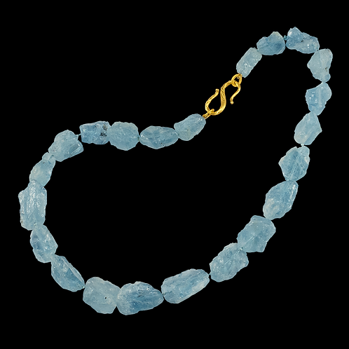 Blue Aquamarine Strand