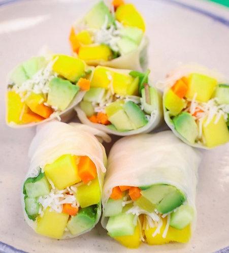 Mango Avocado Spring Roll