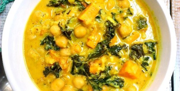 Curry Chickpea Sweet Potato - All Natural