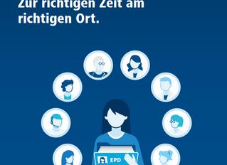 Neue Broschüre zum EPD speziell für die Bevölkerung