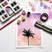drawing, hope u guys like it😊#watercol
