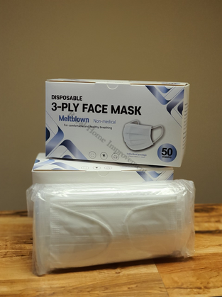Non-medical Face Masks (White)