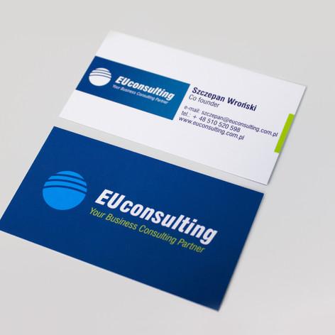 wizytówki EUconsulting