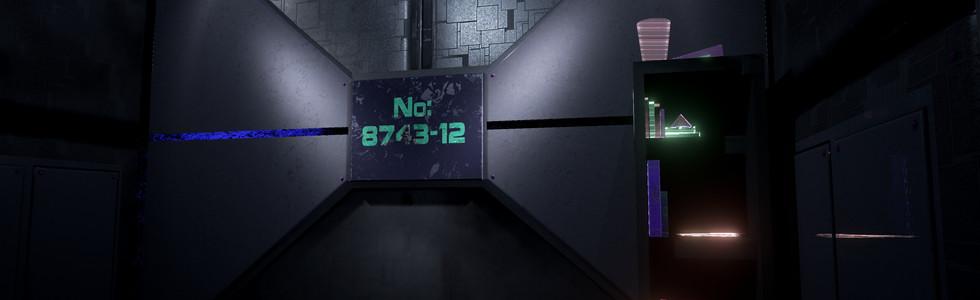 VR Sci-fi Prison Cell