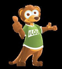 'LOUKat' LeanOnUs Mascot
