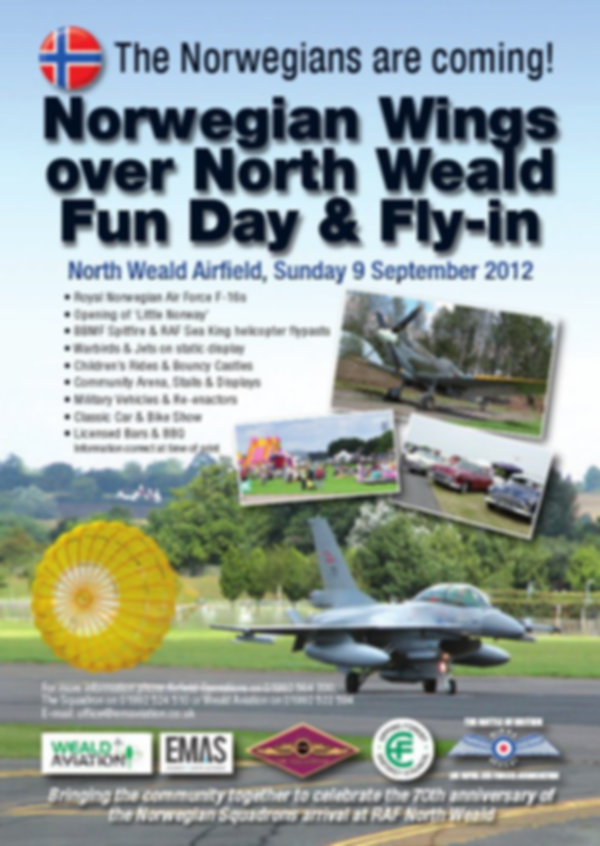 Norwegian Wings over North Weald Fun Day and Fly-in