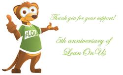 5th Anniversary of LeanOnUs