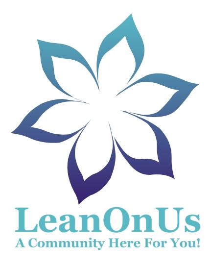 LeanOnUs Logo with New Flower
