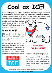 Cool as ICE! for children In Case of Emergency
