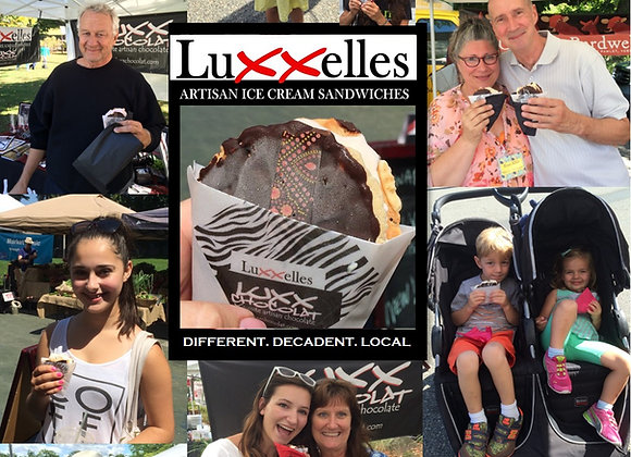LUXXELLES ICE CREAM SANDWICH KIT