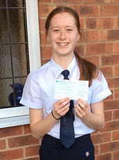Young Ambassador 2020 contender Caris receives her cheque.jpg