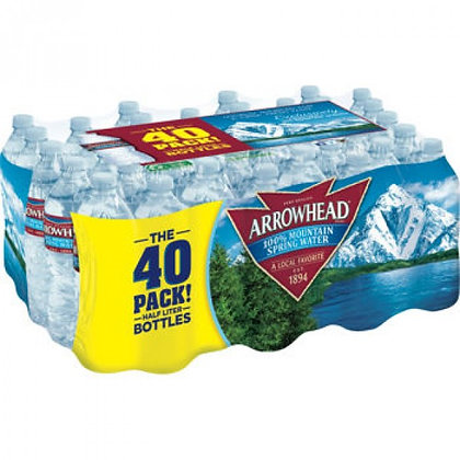 40 Pack Arrowhead Water