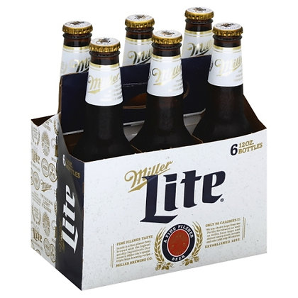 Miller Lite 6 pack