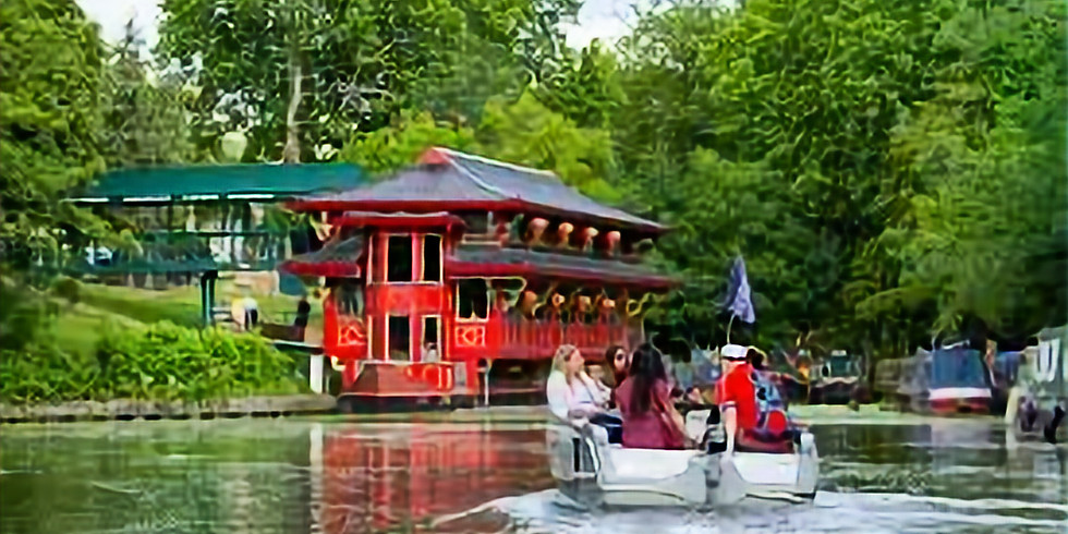 Tuesday - A 2h Boat Trip on Little Venice