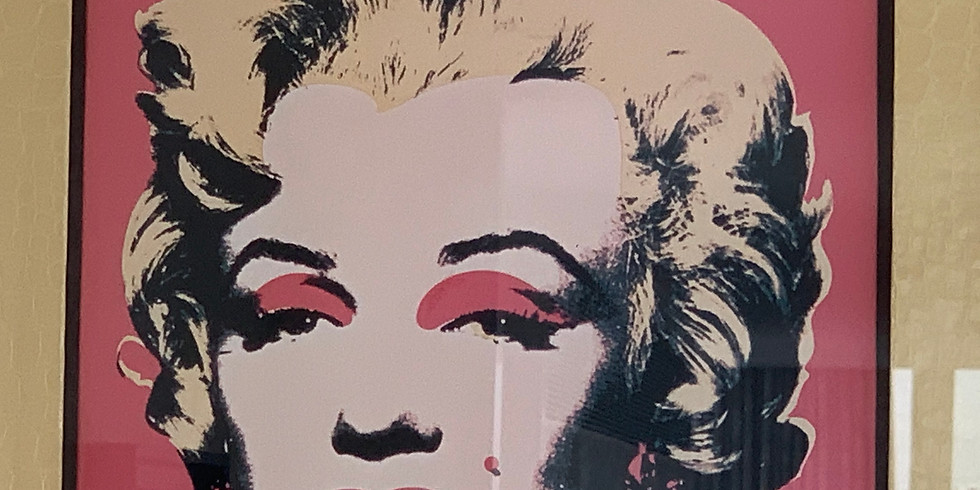 Tuesday Andy Warhol at the Tate Gallery - French Group