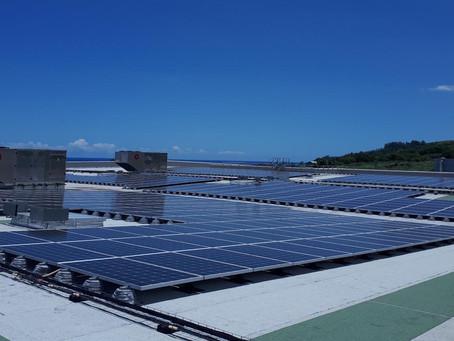 La plus grande centrale Photovoltaïque en Autoconsommation d'Outre-Mer se trouve à Saint-Joseph !