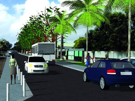 Un chantier qui démarre pour FEDT DARWIN CONCEPT : l'aménagement du chemin du centre à Saint-André !