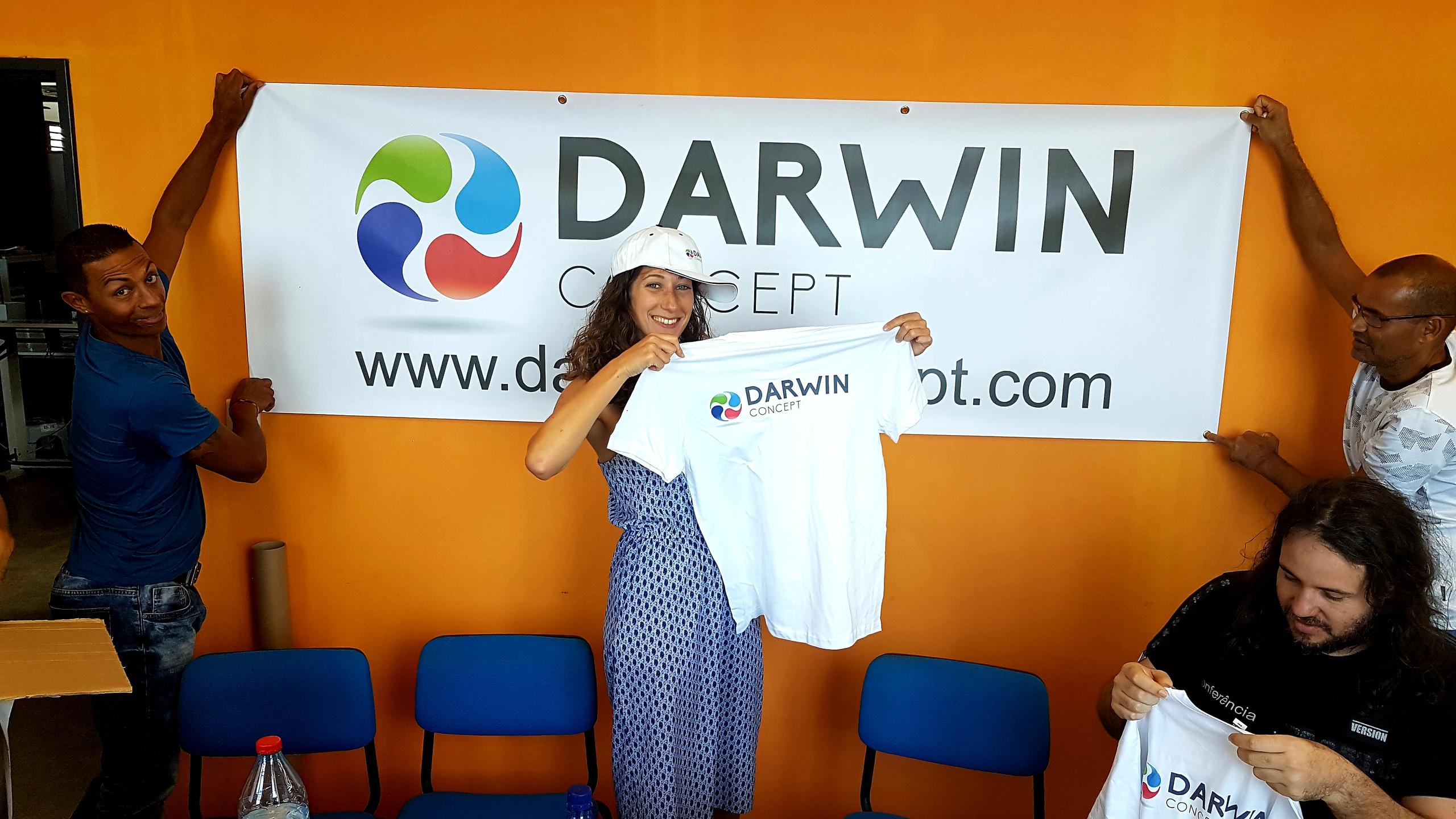 équipe des supporters DARWIN