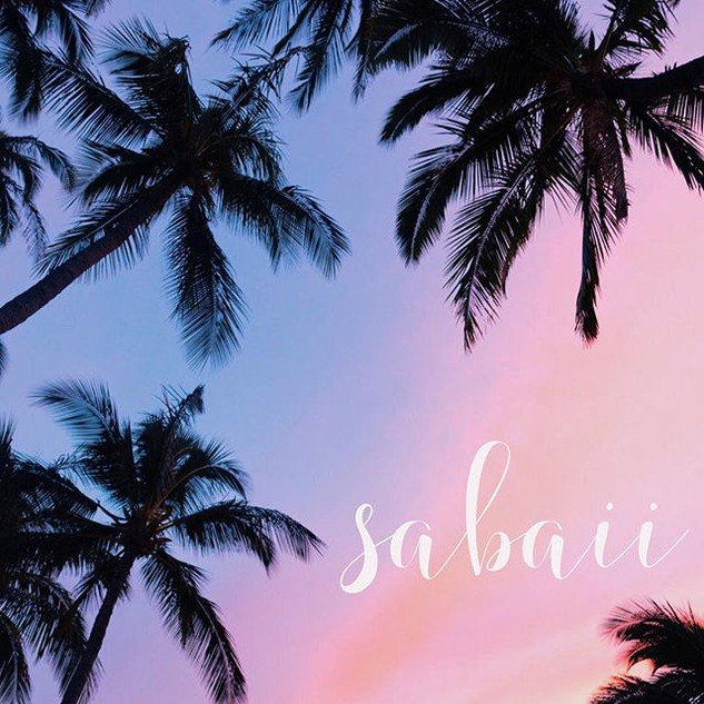 "Sabaii, Thai for ""all good"", is often us"