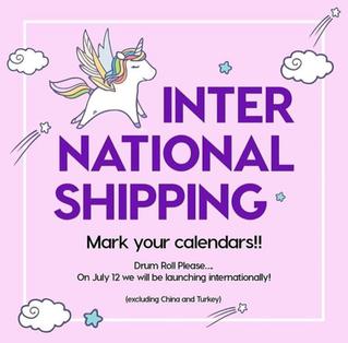 ▷ColourPop が International shipping開始!!