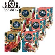 イオラニデザインボックス入り ハワイアンクッキー(マカダミアナッツ&コナコーヒー味)6箱セット/$38.00