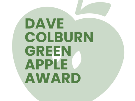 MAKE A NOMINATION: DAVE COLBURN GREEN APPLE AWARD
