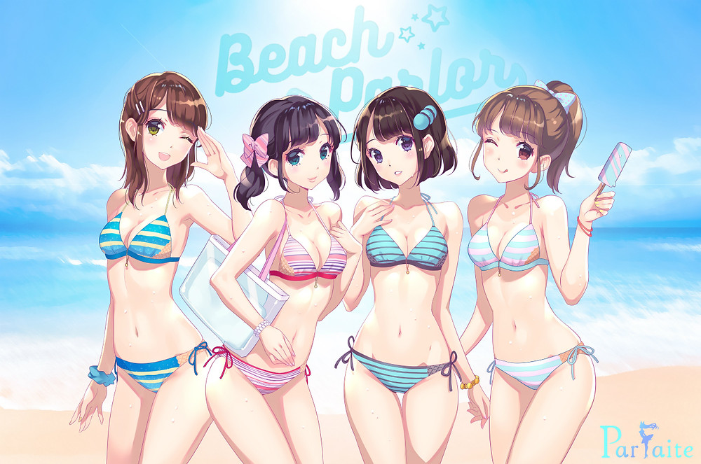 BeachParlor -illustrate by ERIMO