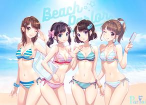 まるでアイスのように冷たい水着!?「BeachParlor」発表