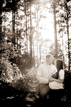 Clemson - South Carolina Botanical Garden Maternity Portraits
