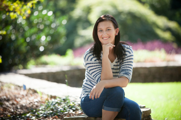 Clemson - South Carolina Botanical Gardens Senior Portraits