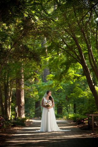SC Botanical Garden Bridal Photography