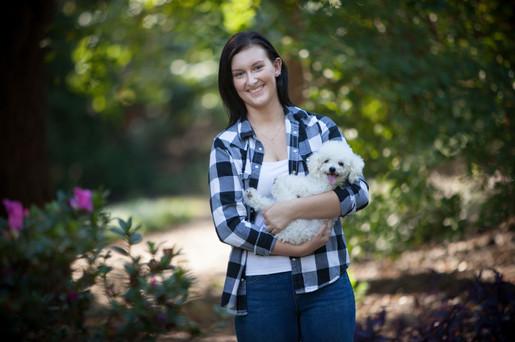 Clemson - South Carolina Botanical Gardens Senior Portraits