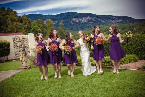 Lake Lure Inn and Spa Wedding Photography