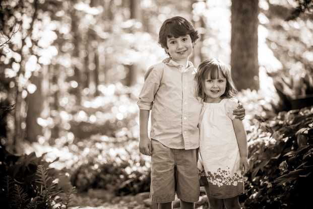 Clemson - South Carolina Botanical Garden Family Portraits