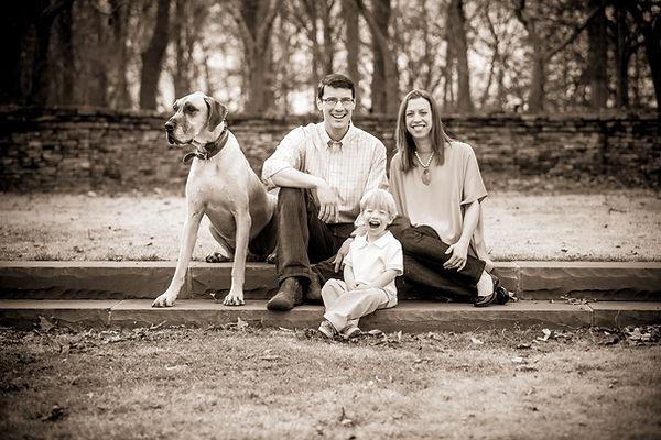 Clemson, SC Family Portrait - SC Botanical Garden