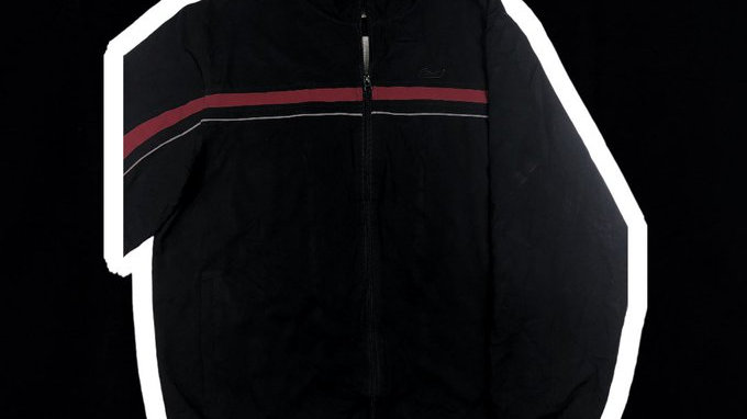 Reebok Red & Black Windbreaker