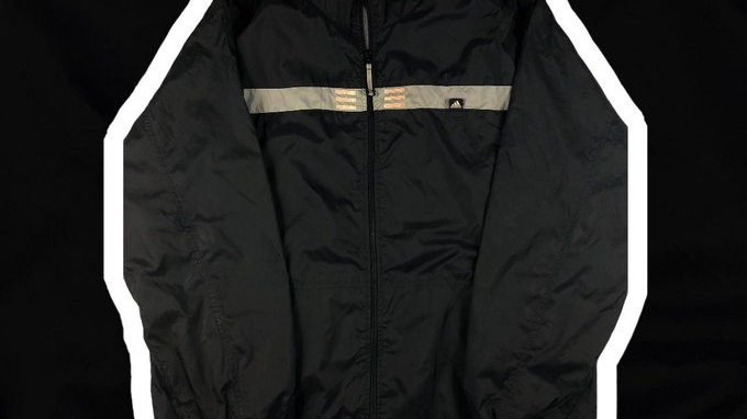 Adidas Windbreaker- Large