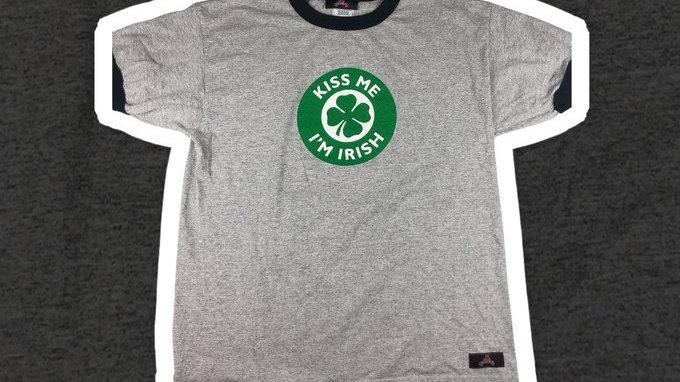 Kiss Me I'm Irish Tee- XL