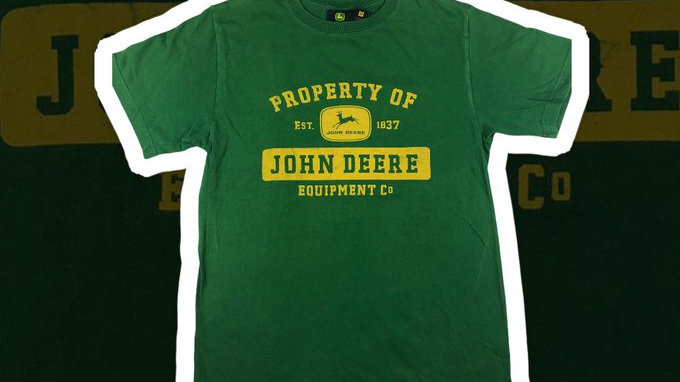 John Deere Tee- Medium