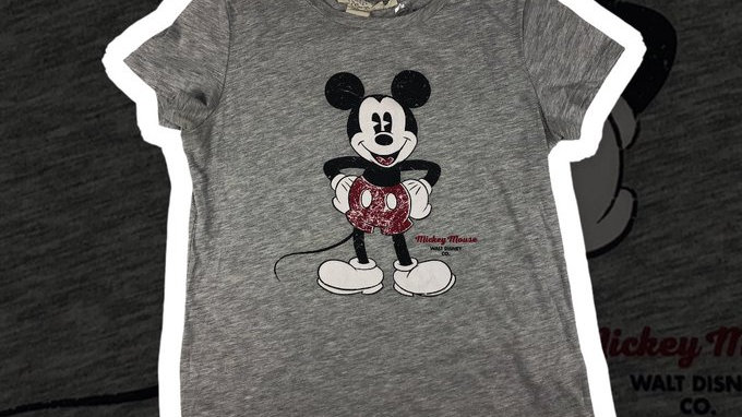 Mickey Mouse Tee Women's - Small