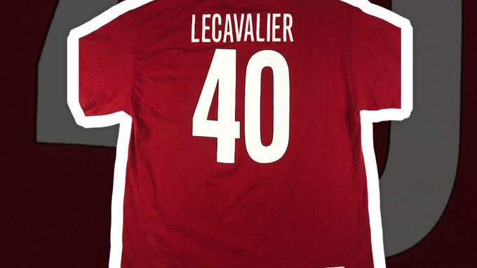 Vincent Lecavalier Team Canada Hockey Tee- XL