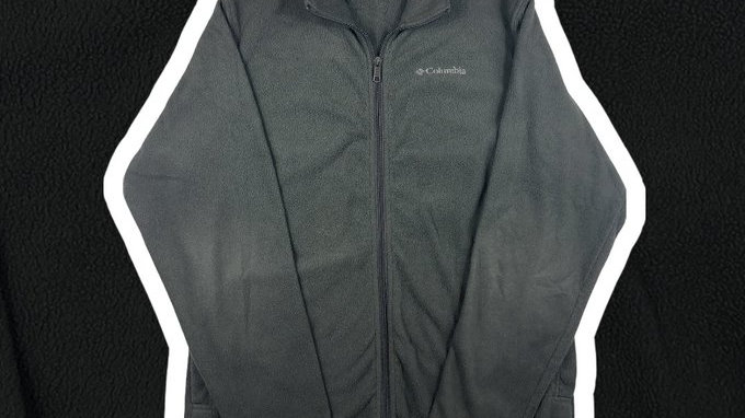 Columbia Zip-Up Sweater- Medium