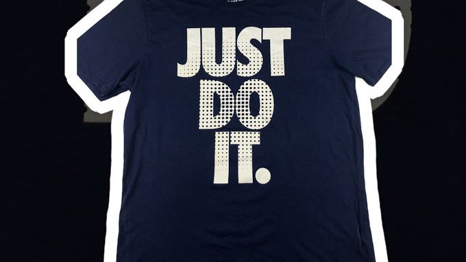 Just Do It Nike Tee- Large