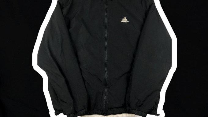 Adidas Black Jacket- Medium