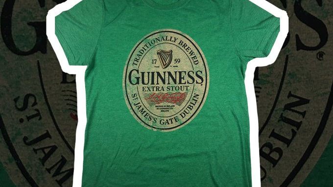 Guinness Dublin Tee- Medium