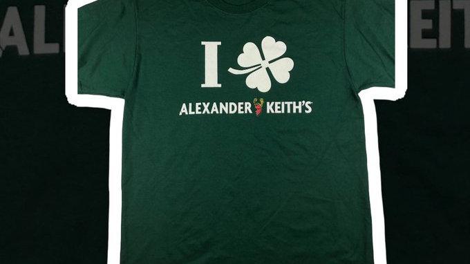 Alexander Keith's St. Paddies Tee- Large