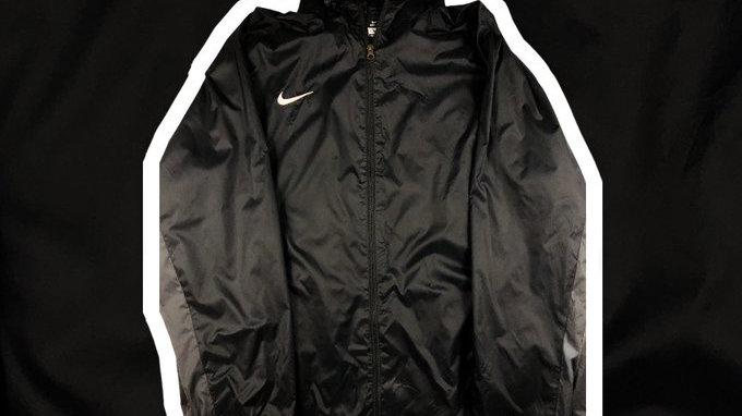 Nike Black Jacket- XXL